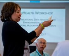 Mobile Health Workshop sparks ideas for future research